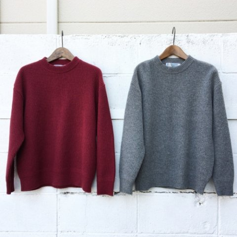 """ISLAND KNIT WORKS """"畦編み Wide Knit"""""""