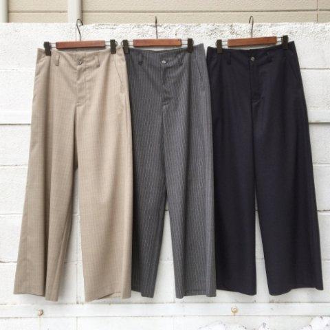 "PULETTE ""Summer Wool Wide Pants"""