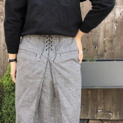 "PULETTE ""Linen Pencil Skirt"""