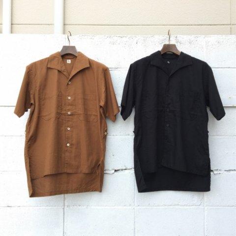 """KAPTAIN SUNSHINE """"Italian Collar Safari Shirt"""""""
