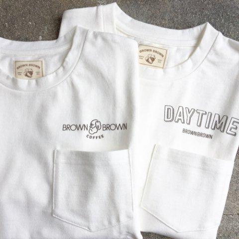 "BrownBrown ""Print Pocket Big T-Shirt"""