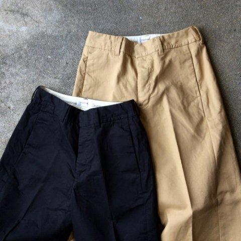"""PULETTE """"Cotton Side Slit Pants"""""""