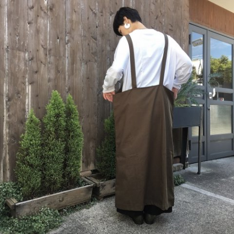 "YARMO ""Overall Dress (Twill)"""
