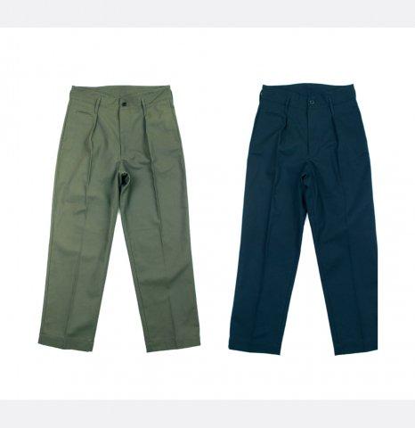 "H.UNIT STORE LABEL ""Serge Tuck Wide Triusers"""