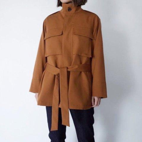 """PULETTE """"Wool Twill Field Jacket"""""""
