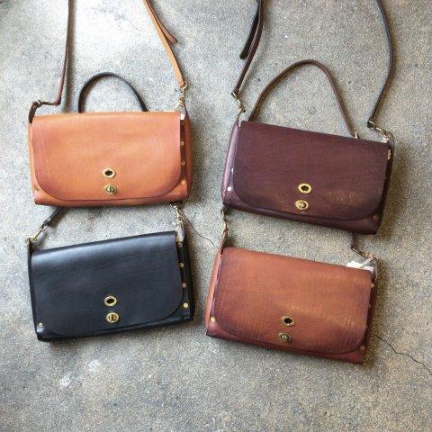 """vasco """"Leather 3ways Saddle Bag"""""""