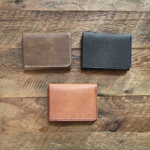 "BrownBrown ""Cafu Tri-fold Wallet"""