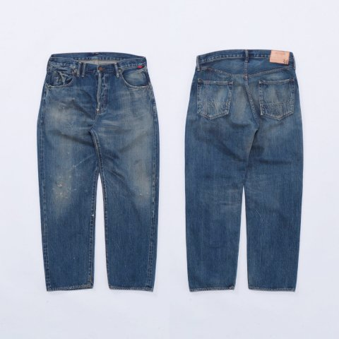 """Anachronorm """"TYPE-α Basic Tapered Jeans"""""""