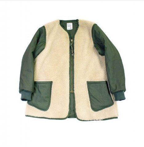 """H.UNIT STORE LABEL """"C/N Liner Zip Jacket"""""""