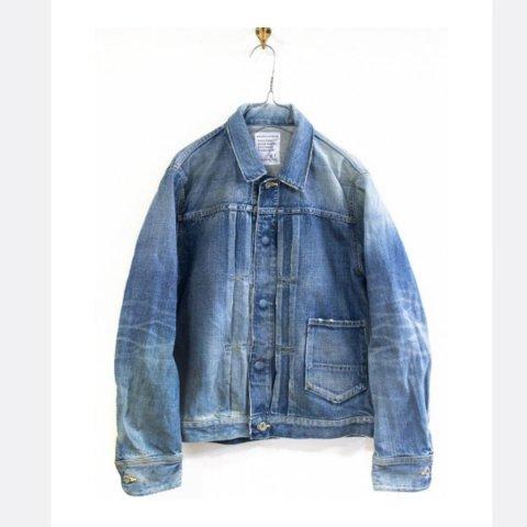 """H.UNIT STORE LABEL """"1st Type Indigo Denim Jacket (Real Wash)"""""""