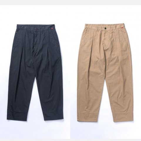 """Anachronorm """"Standard Wide Tuck Trousers"""""""