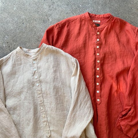 """Gypsy&sons """"Linen Seeting Button Shirts"""""""