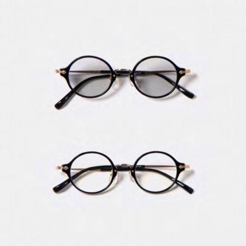 """ORGUEIL """"Combi Celluloid Glasses (BLK)"""""""