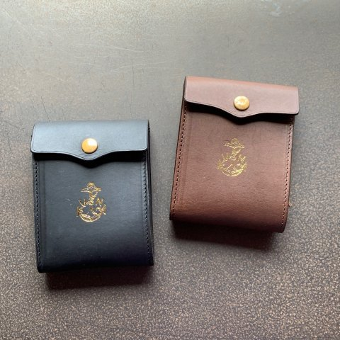 """vasco """"LEATHER NAVAL MIDDLE WALLET"""""""