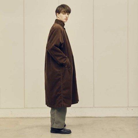 """H.UNIT  """"Corduroy gascape coat"""""""