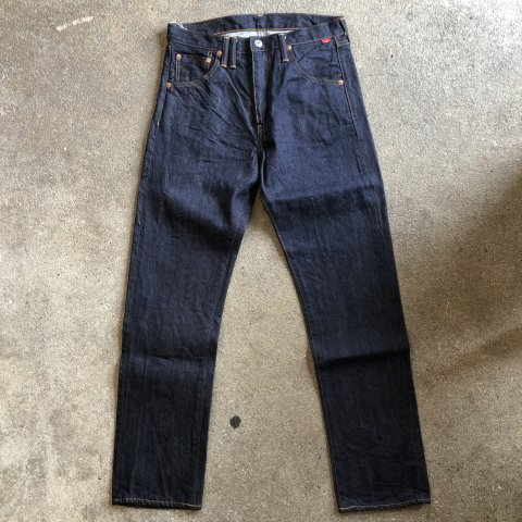 "ANACHRONORM ""RINSED DENIM SLIM JEANS"""