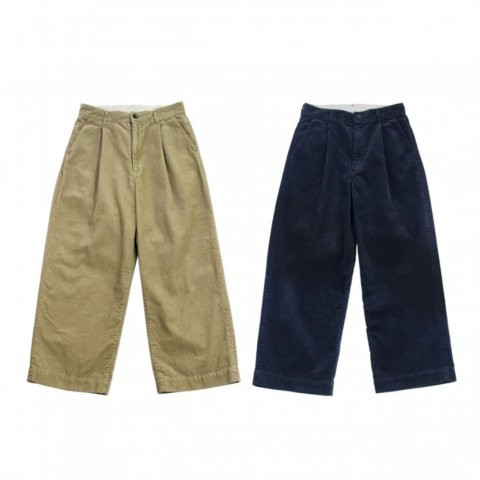 "H.UNIT  ""Corduroy crownsize trousers"""