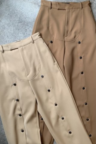 """RUMBLE RED """"Military Button Pants"""""""