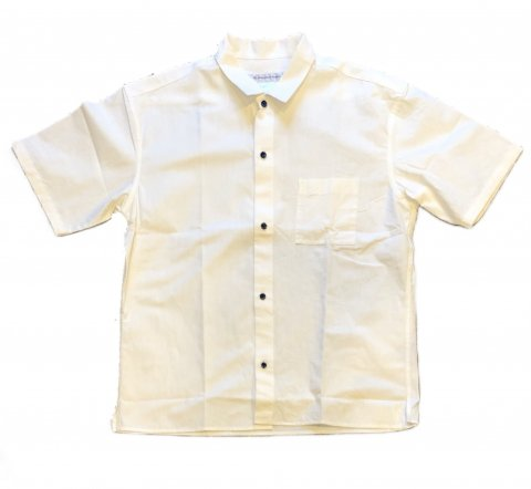 "EEL ""陶器釦のシャツ S/S"""