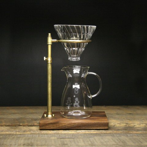 """The Coffee Registry """"Explorer pour over stand"""""""