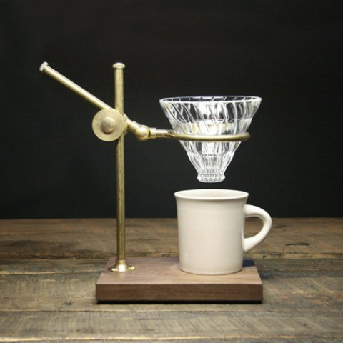 """The Coffee Registry """"Professor pour over stand"""""""
