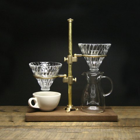 """The Coffee Registry """"Clerk duet pour over stand"""""""