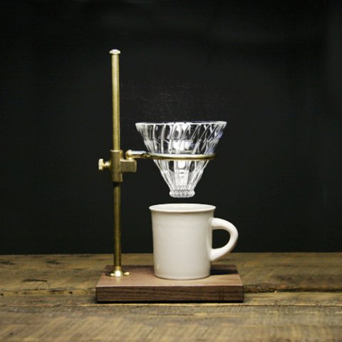 """The Coffee Registry """"Clerk pour over stand"""""""