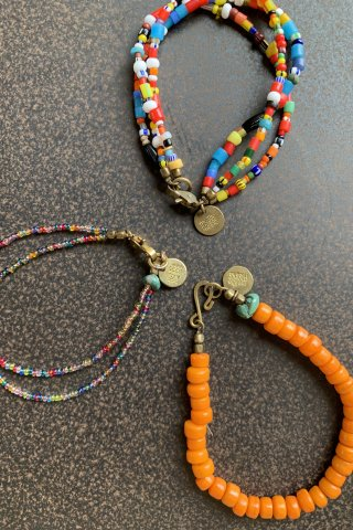 "melple  ""Antique Beads Bracelet"""