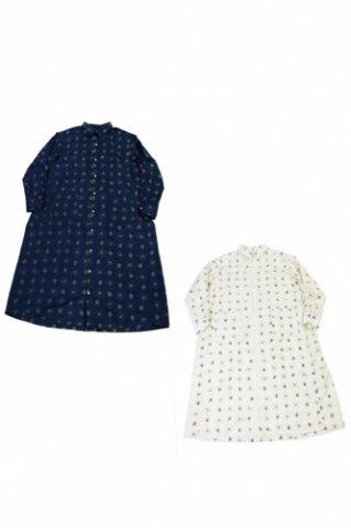 "H.UNIT  ""Paisley print shirt dress"""