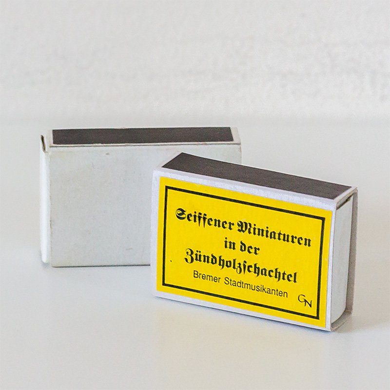 Gisbert Neuber ギスベルト・ノイバー マッチ箱 イースターエッグとウサギ