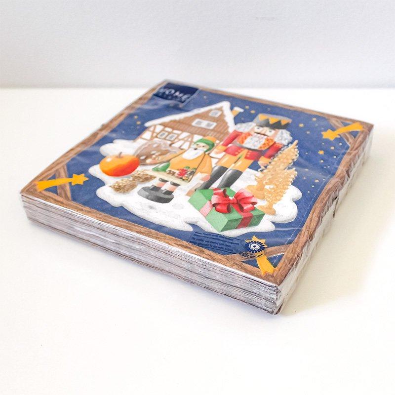 Paper + Design ペーパーナプキン 20P クリスマスランド