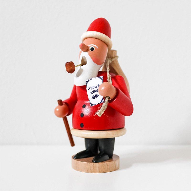 Thomas Werner トーマス・ヴェルナー 煙出し人形 サンタクロース レッド
