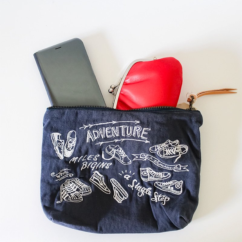 LIMONCHELLO リモンチェッロ ADVENTURE POUCH NAVY<img class='new_mark_img2' src='https://img.shop-pro.jp/img/new/icons38.gif' style='border:none;display:inline;margin:0px;padding:0px;width:auto;' />