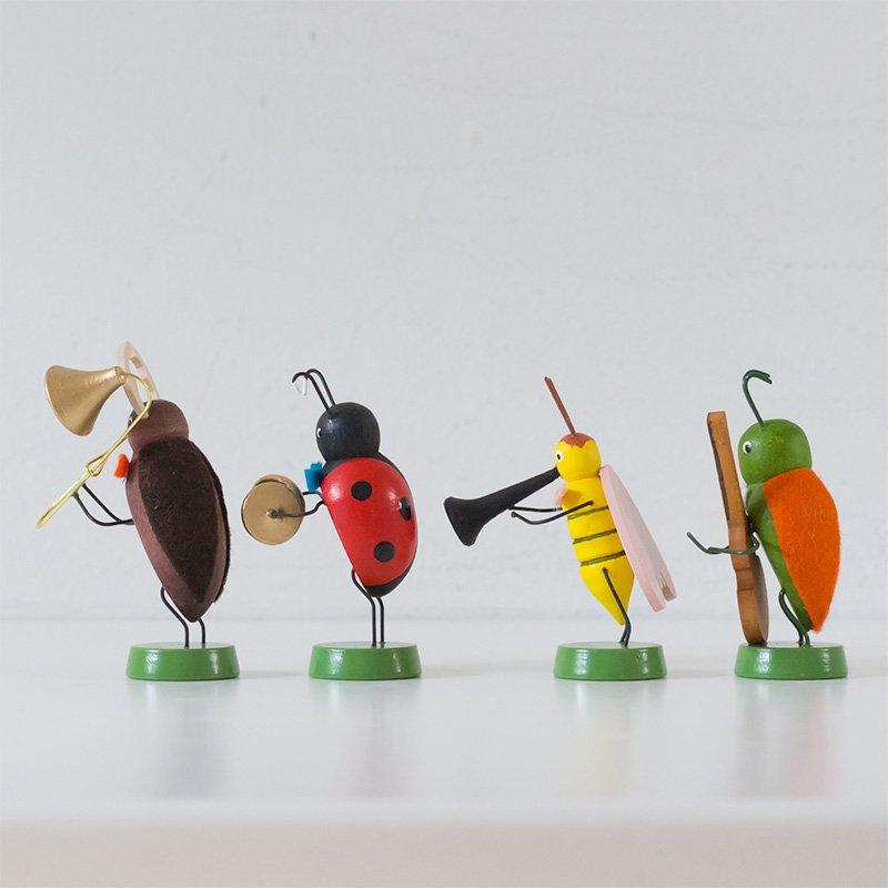 Volker Zenker フォルカー・ゼンカー 4匹の虫の楽団