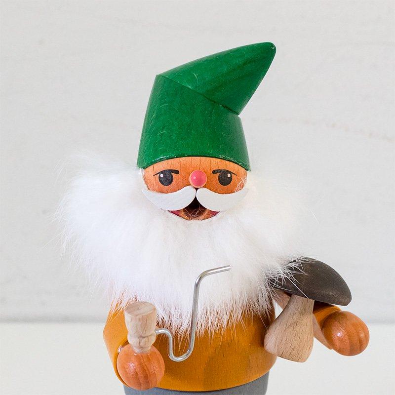 Karl Werner カール・ヴェルナー 煙出し人形 小人ときのこ