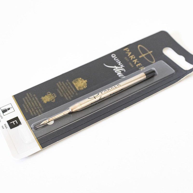 Parker パーカー クインクフロー ボールペン替芯 ブラック F 細字 0.8mm