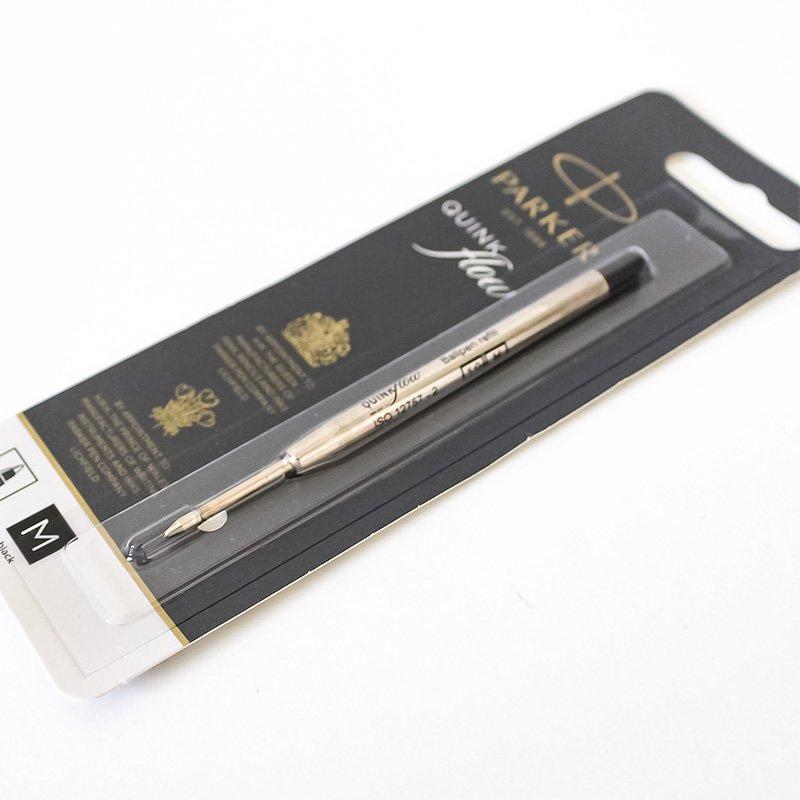 Parker パーカー クインクフロー ボールペン替芯 ブラック M 中字 1.0mm