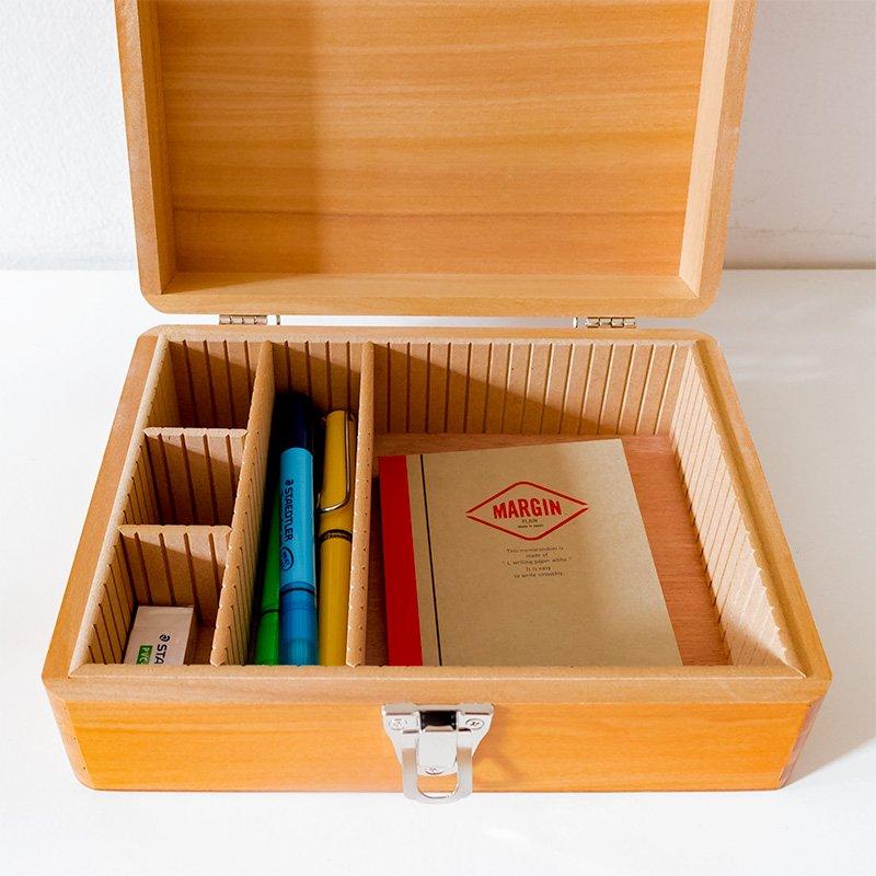 松野屋 木製印箱 大