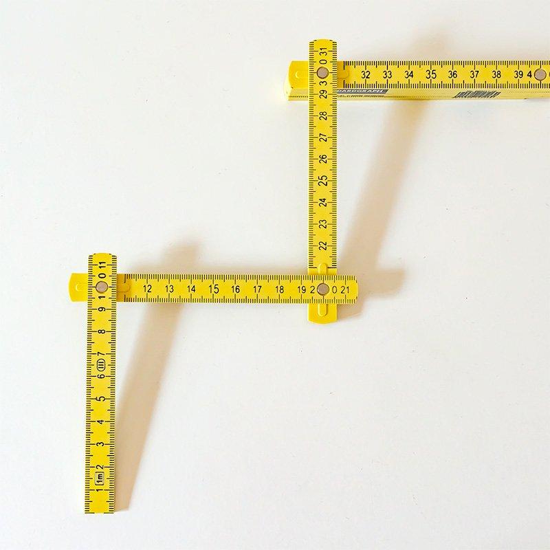 Standardgraph スタンダードグラフ 折りたたみ定規 フォールディングルーラー 1m