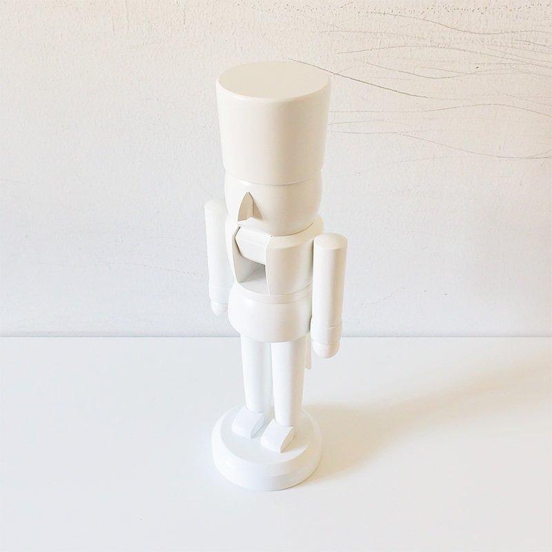 HoDreWa Legler レグラー くるみ割り人形 ピュアホワイト 33cm