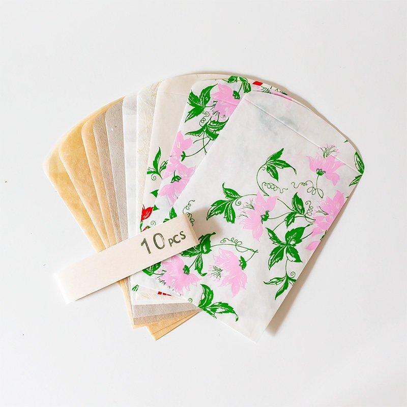 CHARKHA チャルカ ぺロンチョベロの紙袋 10枚セット アソート3