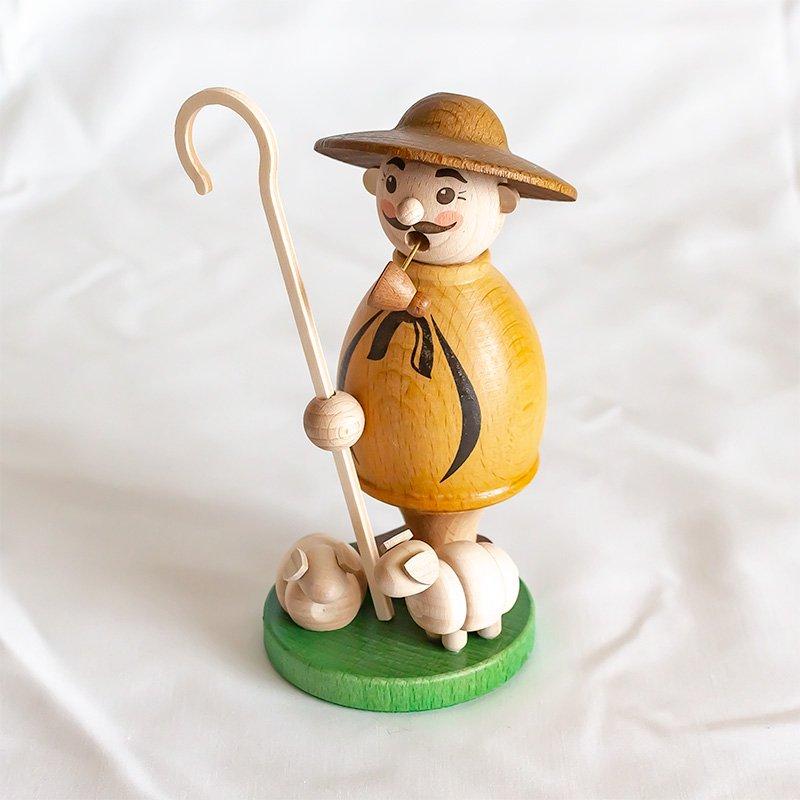 Zeidler Holzkunst ザイドラー 煙出し人形 羊飼い