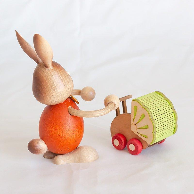Drechslerei Kuhnert クナート ベビーカーとウサギ