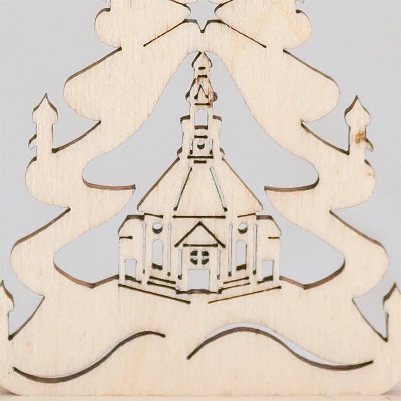 ミニミニモミの木 教会