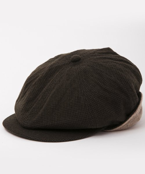 <img class='new_mark_img1' src='https://img.shop-pro.jp/img/new/icons20.gif' style='border:none;display:inline;margin:0px;padding:0px;width:auto;' />RAGTIME CASQUETTE HOUND'S TOOTH