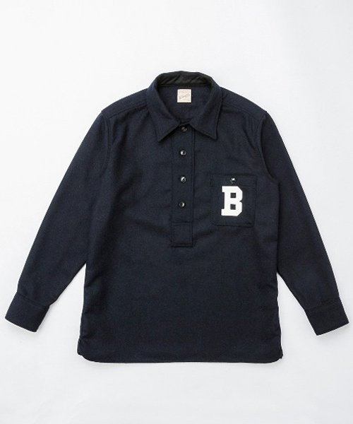 RAGTIME BASEBALL PULLOVER L/S SHIRTS