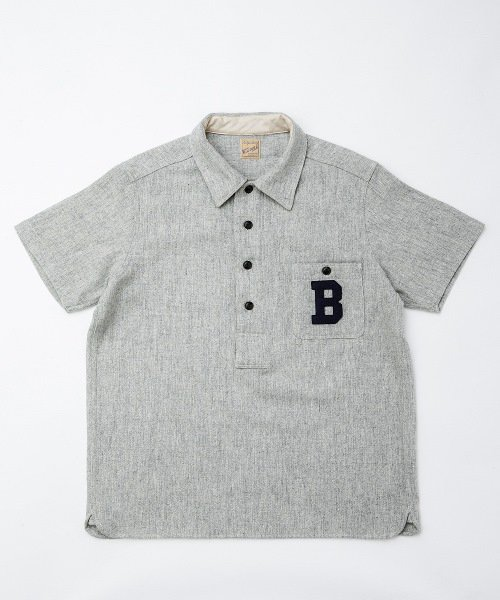 RAGTIME BASEBALL PULLOVER S/S SHIRTS