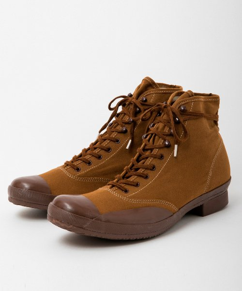 RAGTIME CAP TOE CANVAS BOOTS