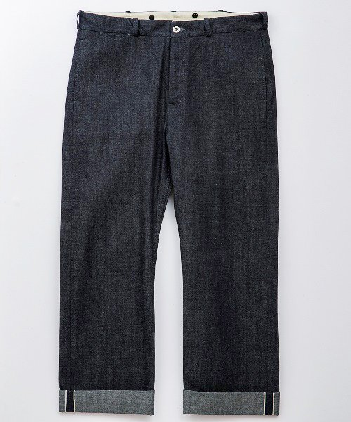 <img class='new_mark_img1' src='https://img.shop-pro.jp/img/new/icons20.gif' style='border:none;display:inline;margin:0px;padding:0px;width:auto;' />RAGTIME DENIM TROUSERS RED LINE