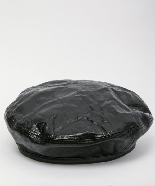RAGTIME LEATHER BERET